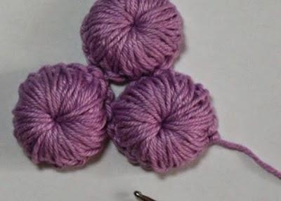 Botones bombin de crochet tutorial