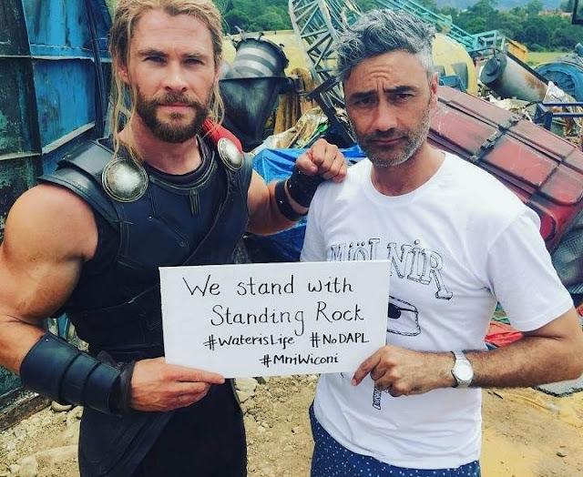 Nuevo traje de Chris Hemsworth en Thor: Ragnarok