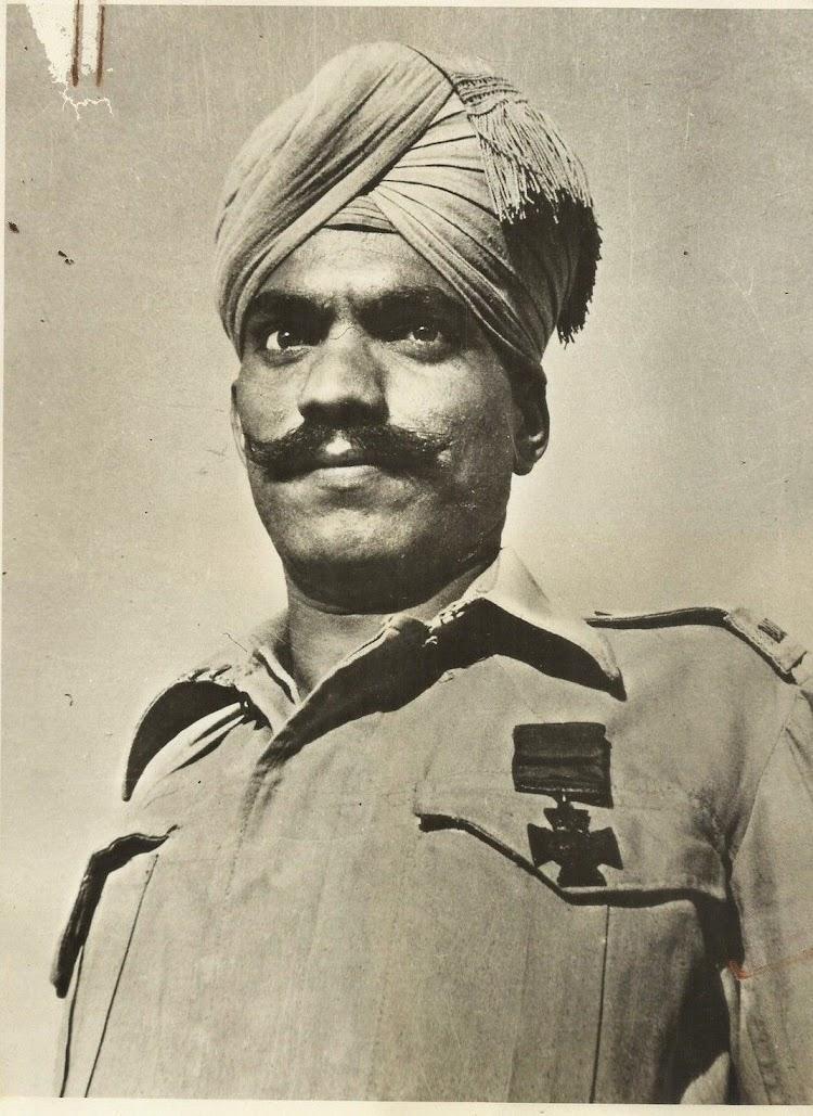 Portrait of a Rajput Soldier - Date Unknown
