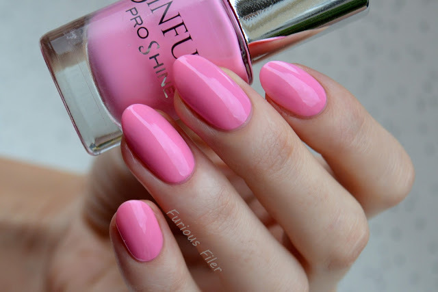 sinful pro shine babydoll pink barbie nailbox january