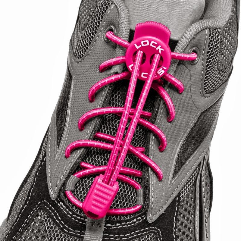 Joyful Runner Girl Lock Laces