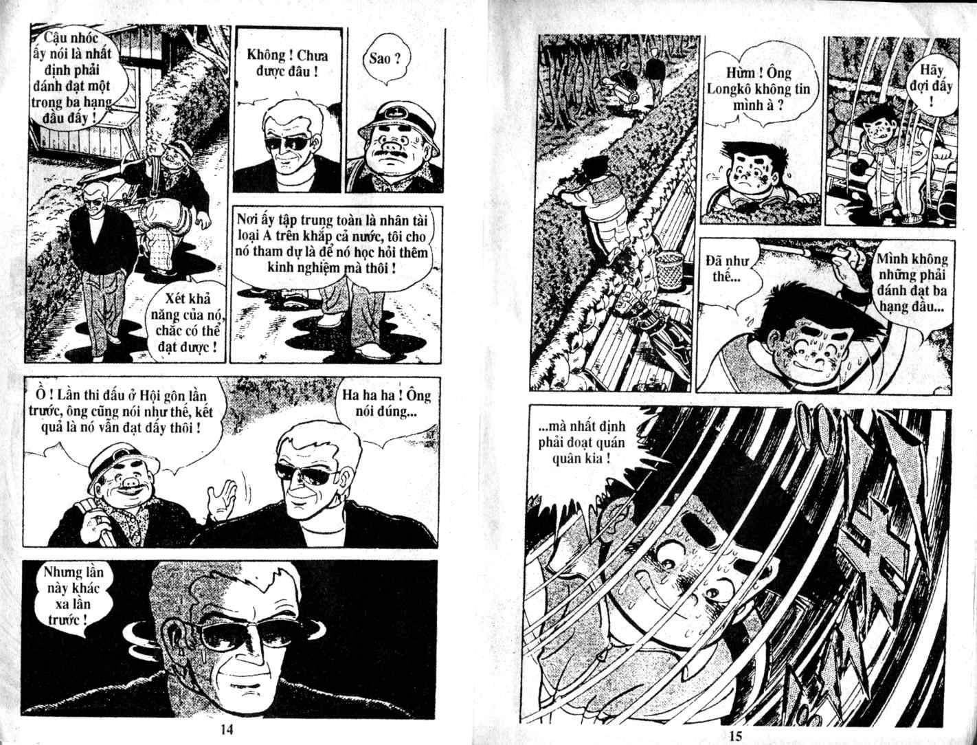 Ashita Tenki ni Naare chapter 15 trang 6