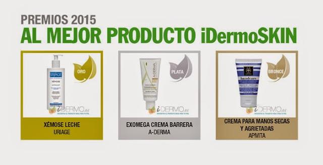 Estas son las Marcas ganadoras de los Premios iDermo - Blog de Belleza Cosmetica que Si Funciona