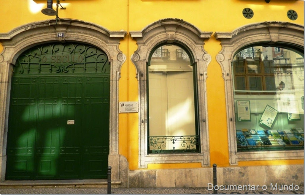 """Antigas Instalações do Jornal """"O Século"""", Rua do Século, Lisboa"""