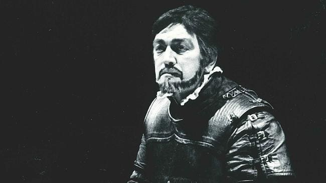Baritone ROBERT ALLMAN as Iago in The Australian Opera's 1984 production of Giuseppe Verdi's OTELLO [Photograph © by Opera Australia]