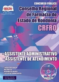 Apostila CRFRO Agente Administrativo
