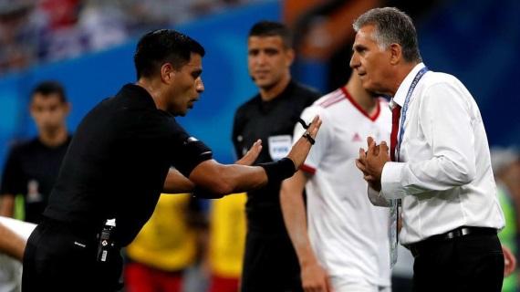 Iran head coach Carlos Queiroz