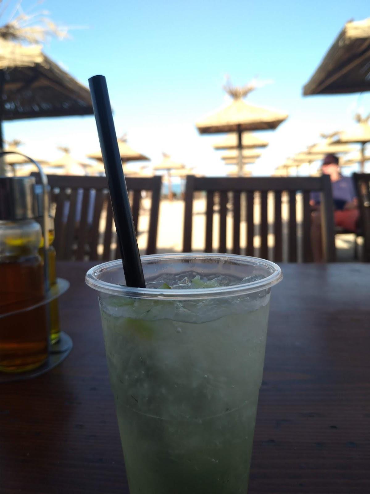 drink mojito w Złotych Piaskach