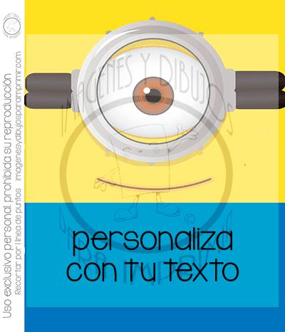 Invitaciones De Minions Para Imprimir Imagenes Y Dibujos Para Imprimir