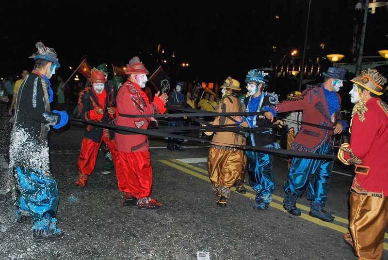 Desfile Inaugural del Carnaval. 2015. La Gran 7.