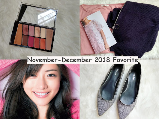 November - December 2018 favorite - Nurismaya14 | Random stories about my life
