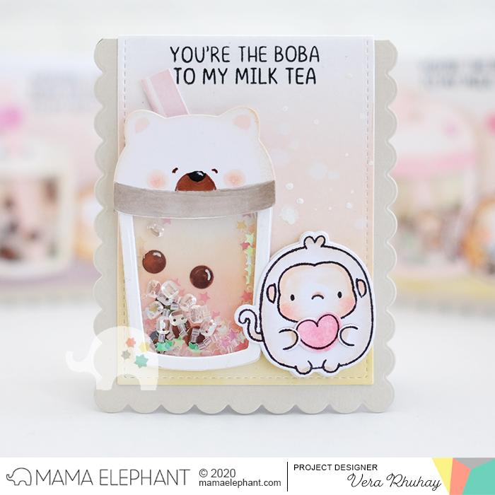 moccavanila by vera rhuhay: MAMA ELEPHANT APRIL STAMPEDE