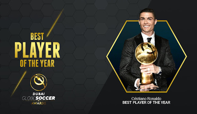 Cristiano Ronaldo raih 2 penghargaan global soccer award