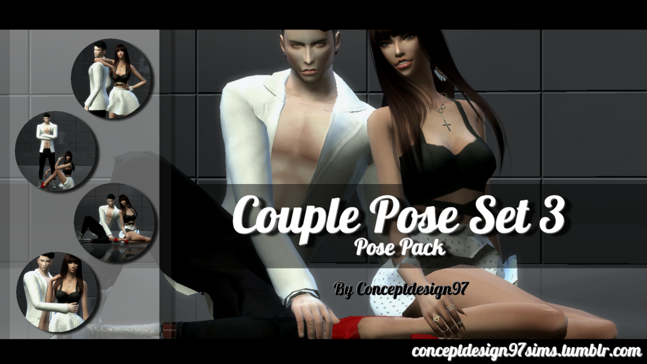 Ts4 Couple Pose Set 3 Pose Pack Version By