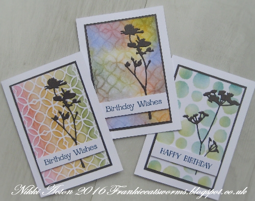 Addicted to Art - Layering Stencils and Wildflower Die