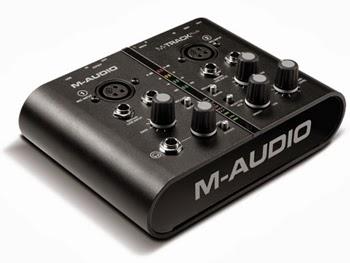 Soundcard Recording M AUDIO M TRACK PLUS