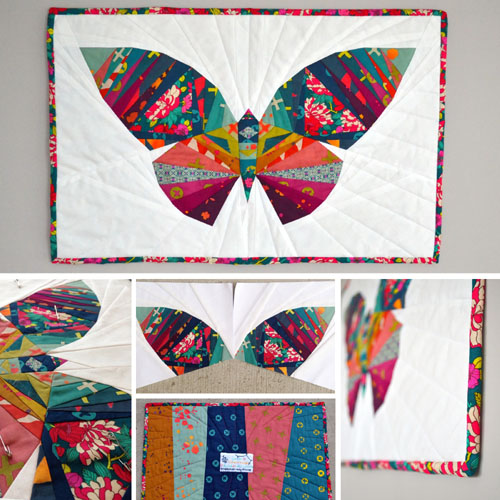 Butterfly Inspired Quilt - Step by Step