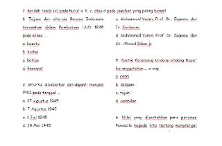 Soal UTS PKn Kelas 6 SD Semester 1
