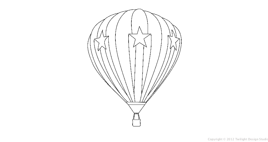 Balloon Pants Pictures: Balloon Outline