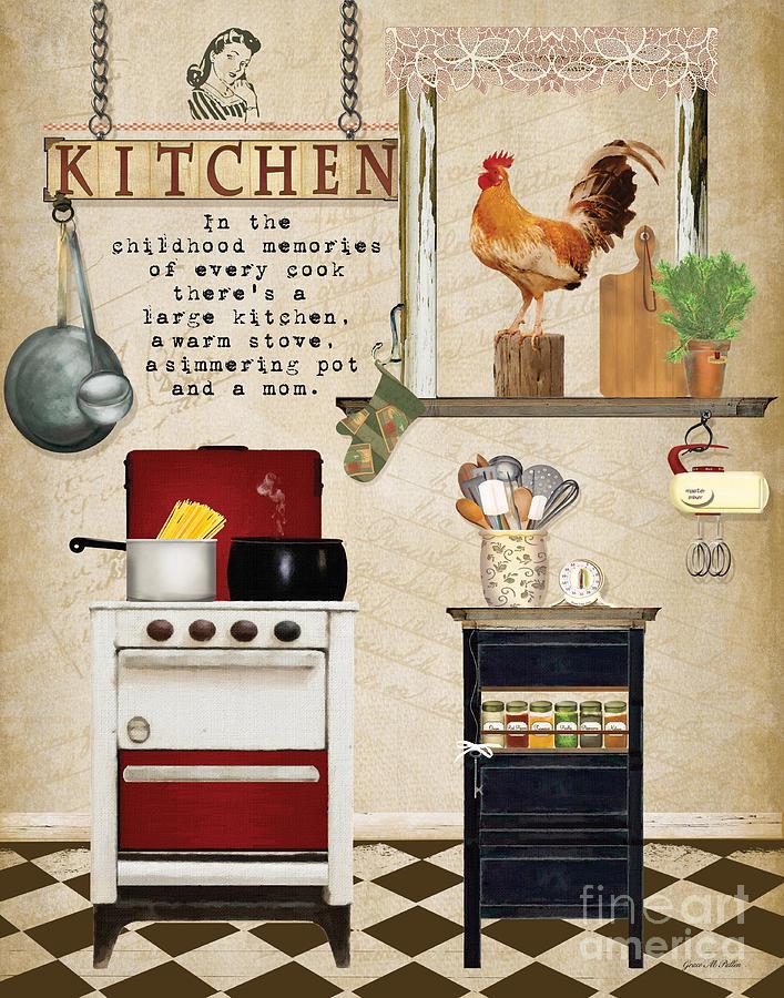 Коллекция картинок Картинки на кухонную тему часть2