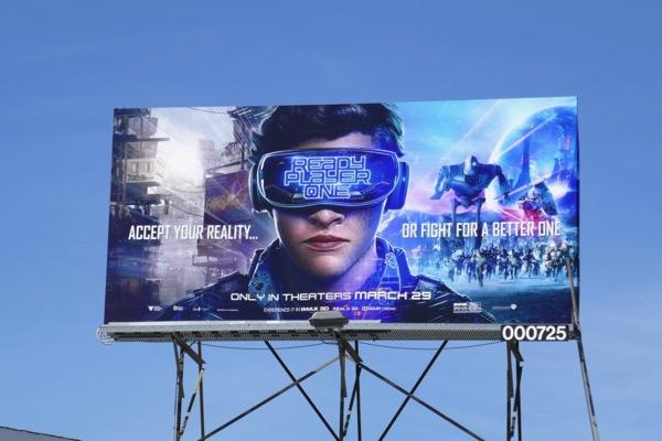 Ready Player One film billboard