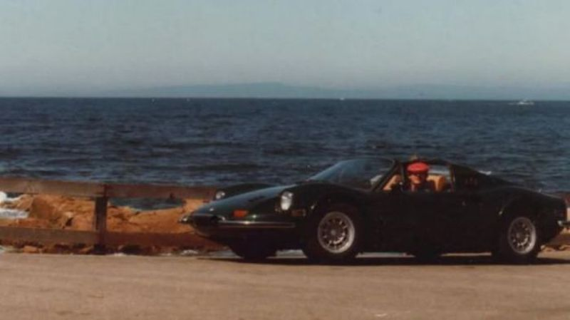 Dug Up A Dino How A 1974 Ferrari Dino Ended Up Buried In