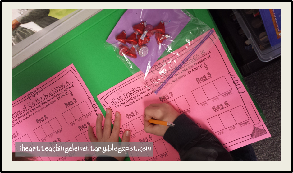 Valentines Fractions Activity