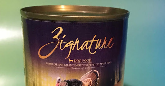 Product Review: Zignature Limited Ingredient Canned Dog Food