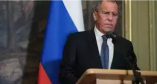 The Foreign minister of  Russia Sergey Lavrov says The United States is encouraging dangerous military activities at Russian borders in Europe of which can jeopardizes the European security.