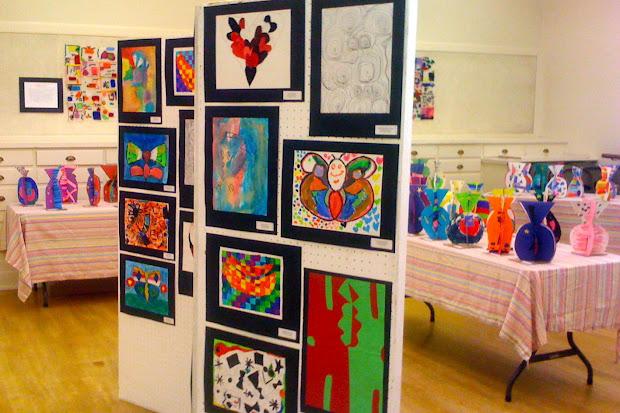 Kids Art Market Show Vsa