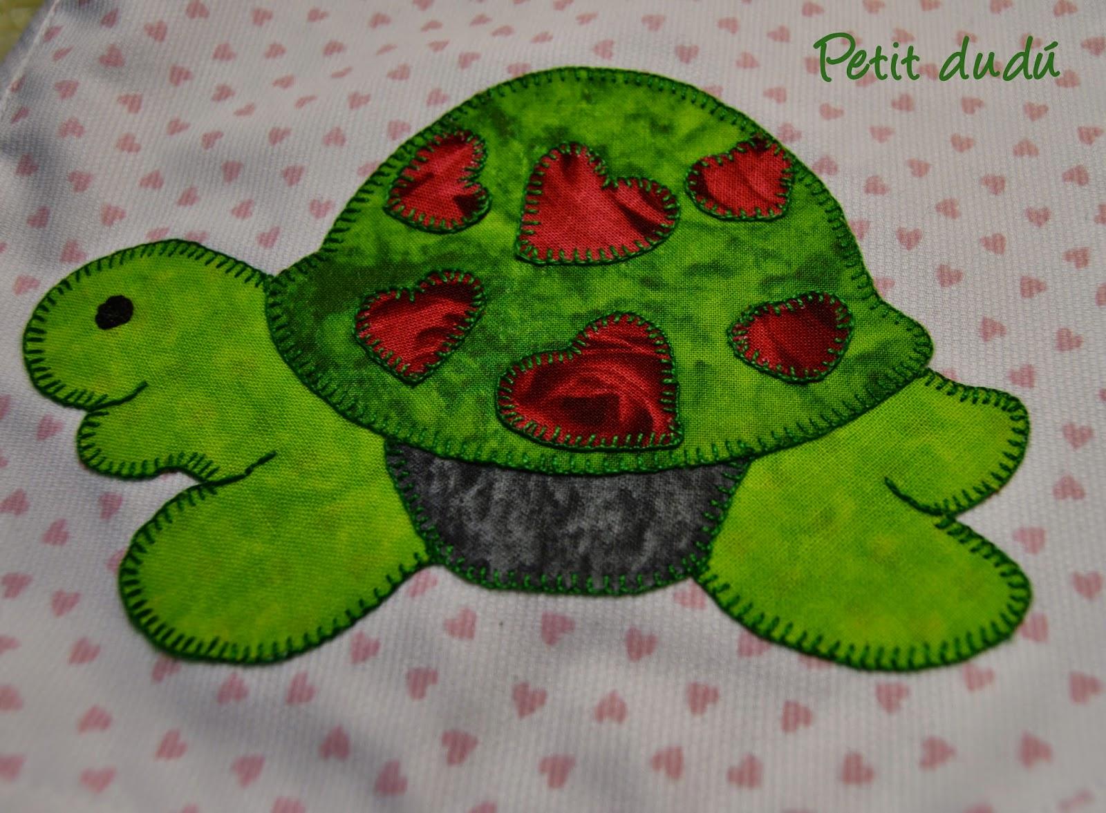 babero tortuga petitdudu