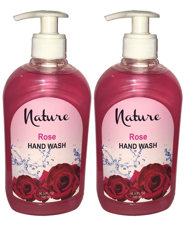 Pack Of 2 - Nature Rose Hand Wash 500 ml