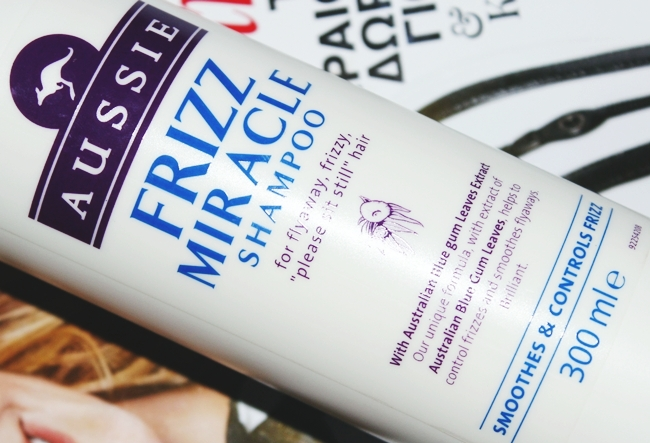"Aussie ""Frizz Miracle shampoo"" for frizzy hair"
