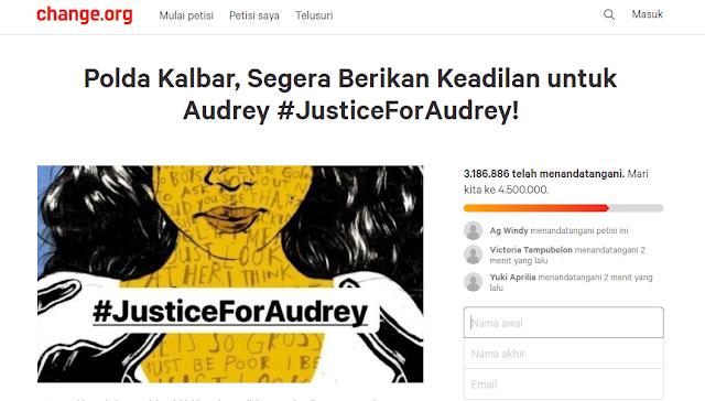 Audrey #JusticeForAudrey Korban Pengeroyokan Oleh 12 Siswi SMA di Pontianak