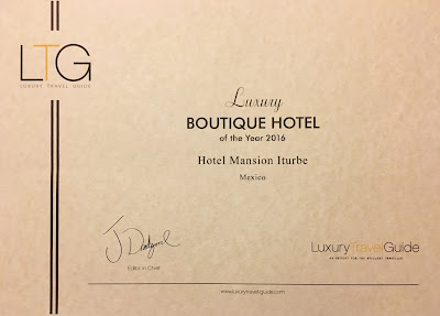 Luxury Travel Guide- Global Awards: Hotel Mansion Iturbe