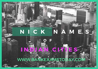 nickname cities