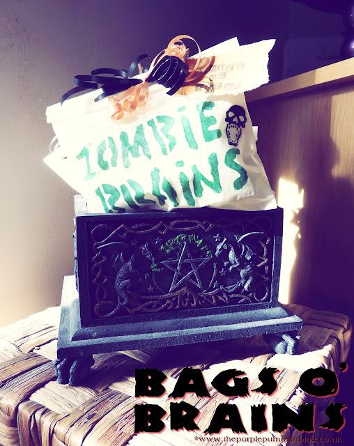 Bags o' Brains for #Halloween Trick or Treat | The Purple Pumpkin Blog