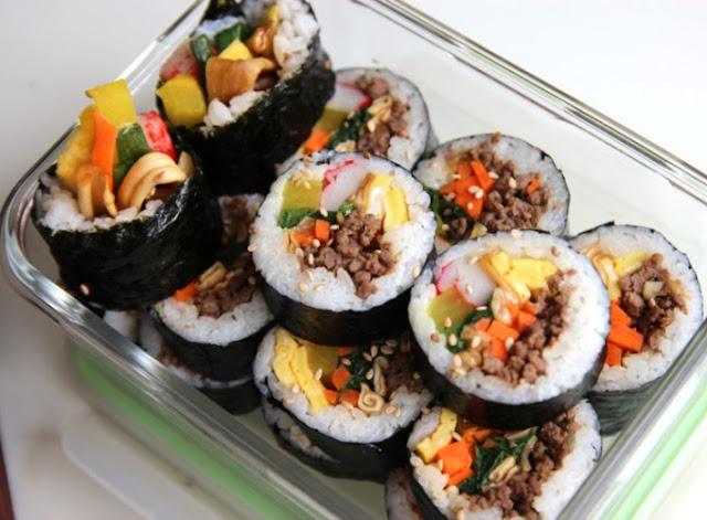 kimbab-ayam