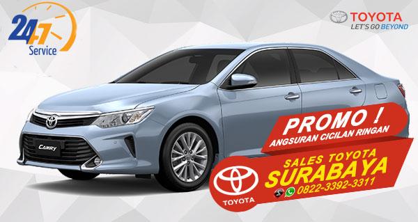 Promo Angsuran Cicilan Ringan Toyota Camry Hybrid Surabaya