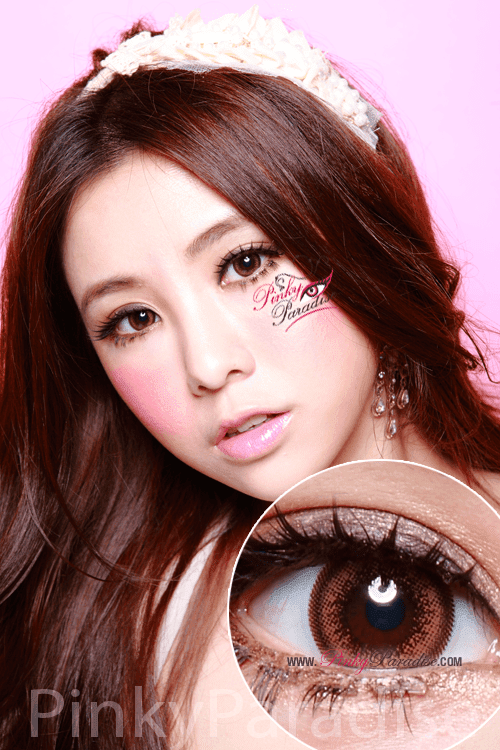 Geo Honey Wing Circle Lenses (Color Contacts)
