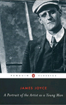 A Portrait of the Artist as a Young Man by James Joyce book cover