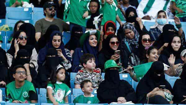 WOMEN IN SAUDI SPORTS STADIUMS