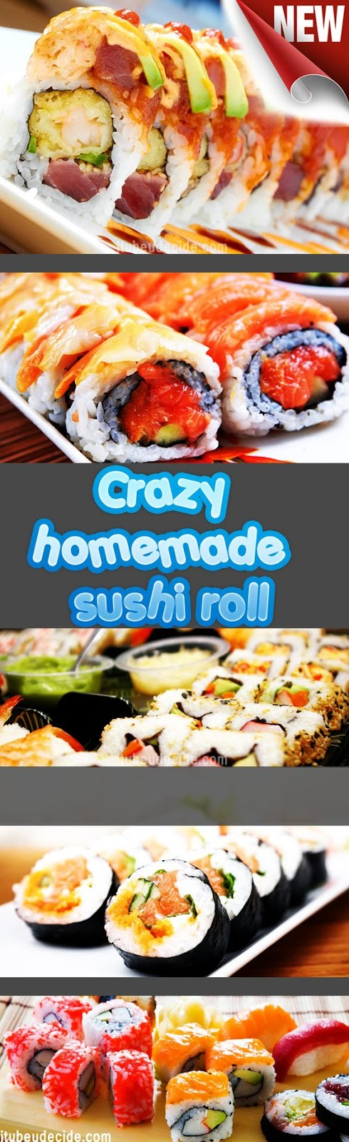 how to make sushi rolls easy