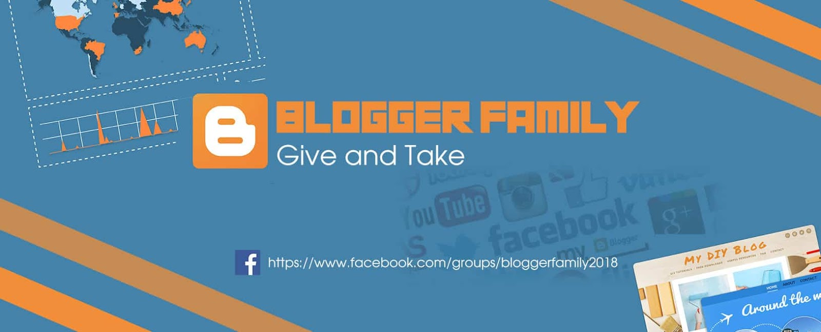 Blogger Family Group - Give and take - Gia đình Blogger