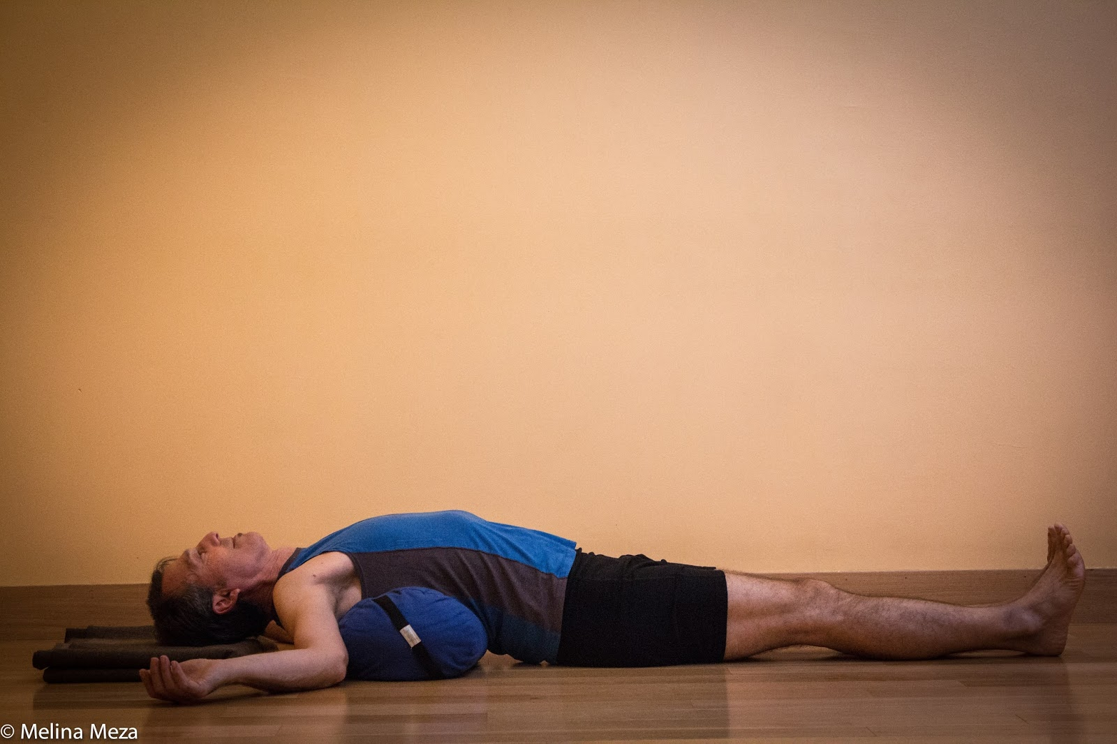 Yoga For Healthy Aging Featured Pose Supported Backbend