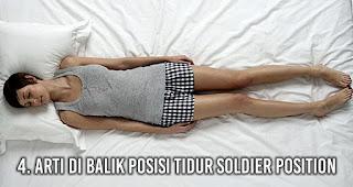 Arti di Balik Posisi Tidur Soldier Position