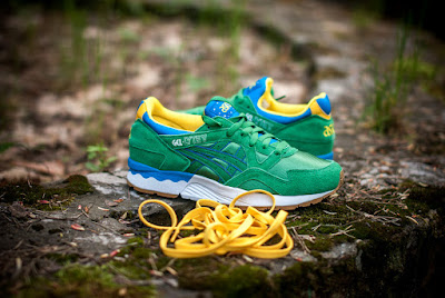 Brazil Pack, Asics Tiger, Gel-Lyte III, Gel-Lyte V, Asics Lifestyle, Shigeyuki Mitsui, ASICS Tiger BRAZIL PACK, Suits and Shirts, sneakers, zapatillas, calzado,