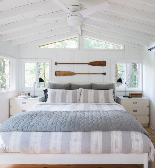 Coastal Beach Gray Bedroom Ideas Shop The Look Coastal Decor Ideas Interior Design Diy Shopping