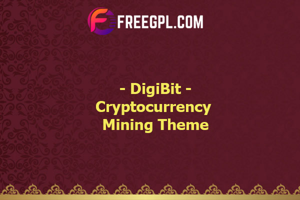 DigiBit - Bitcoin Trading Theme Nulled Download Free