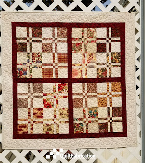 Lickety-Split quilt two from Charm School
